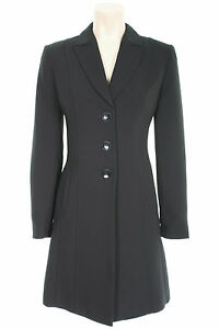 Busy-Black-Long-Ladies-Suit-Jacket