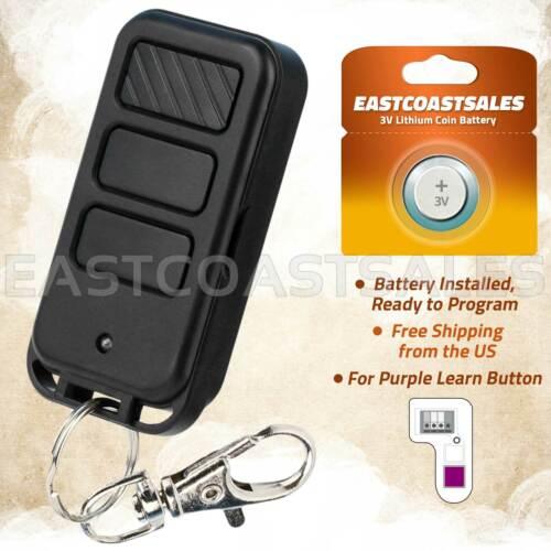 For 953D 953CD Chamberlain Compatible 315mhz Garage Door Opener Remote Keychain