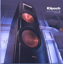 Klipsch Reference II speakers  brochure RF-7 RF82 RF-62 RF-52 RF-42 RB-81 RB-61