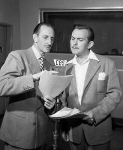 OLD-CBS-RADIO-PHOTO-Basil-Rathbone-In-The-Crime-Drama-Tales-of-Fatima-1