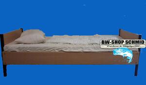 Aufbauanleitung Bett Bw Bundeswehr Stockbett Einzelbett Buche Dekor