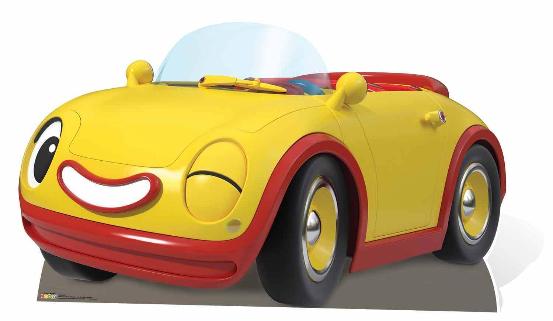 Drehzahlen Noddy's Auto Pappfigur Aufsteller Aufstell Spielzeugland Detektiv | Neues Produkt  | Schönes Aussehen