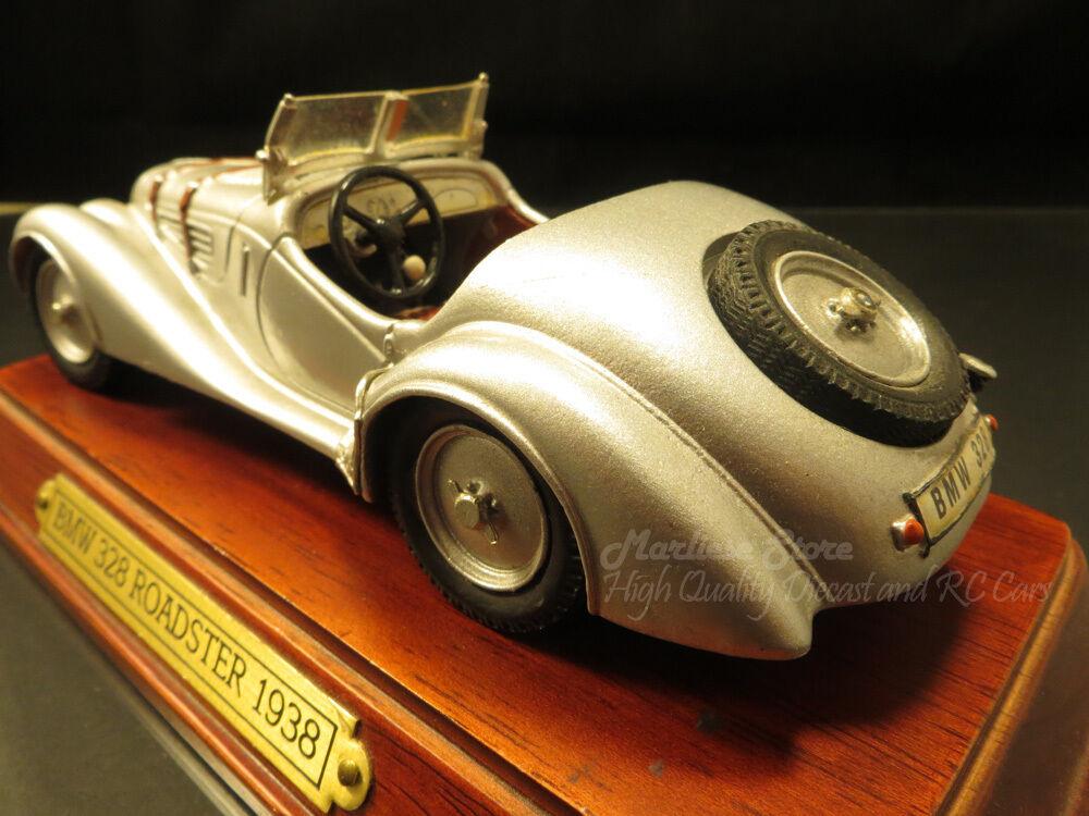 Unico Franklin Mint 1938 BMW 328 Roadster para por encima del promedio de coleccionista.