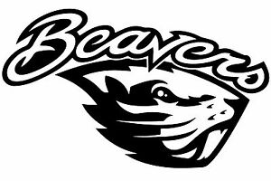 6 Quot Oregon State Beavers Vinyl Decal Sticker Various
