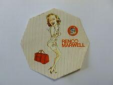 VECCHIO ADESIVO / Old Sticker MARYLIN MONROE (cm 10) serie Renco Marwell