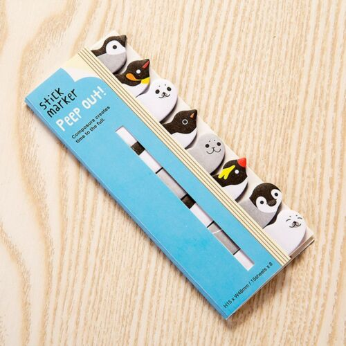 Creative Student Stationery Animal Panda Cat Sticky Notes Memo Pad Stickers
