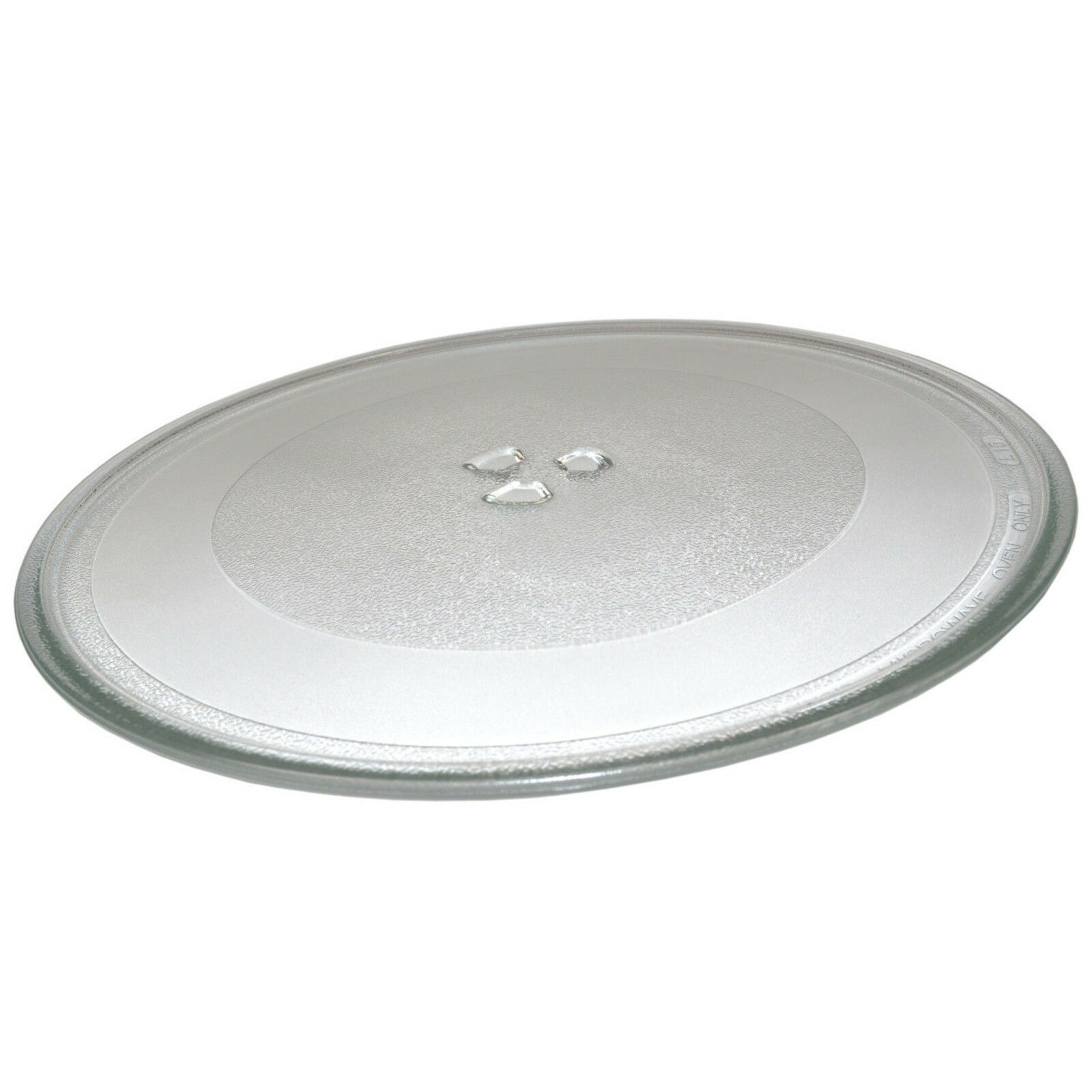 12-3//8 inch Glass Turntable Tray for GE JES Series Microwave Oven Cooking Plate