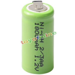 1pcs 2 3aa 1 2v 1800mah ni mh rechargeable battery batteries cell for phone ebay. Black Bedroom Furniture Sets. Home Design Ideas