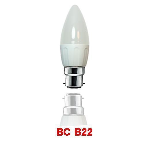 15 x 4W bougie ampoules lampes led blanc chaud ampoules lightchandelier jour