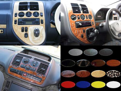 MERCEDES VITO / VIANO / V-CLASS - Dash Trim Kit RHD - 15 colours