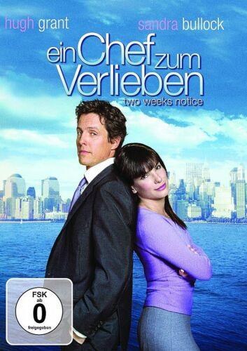1 von 1 - DVD EIN CHEF ZUM VERLIEBEN # Sandra Bullock, Hugh Grant ++NEU