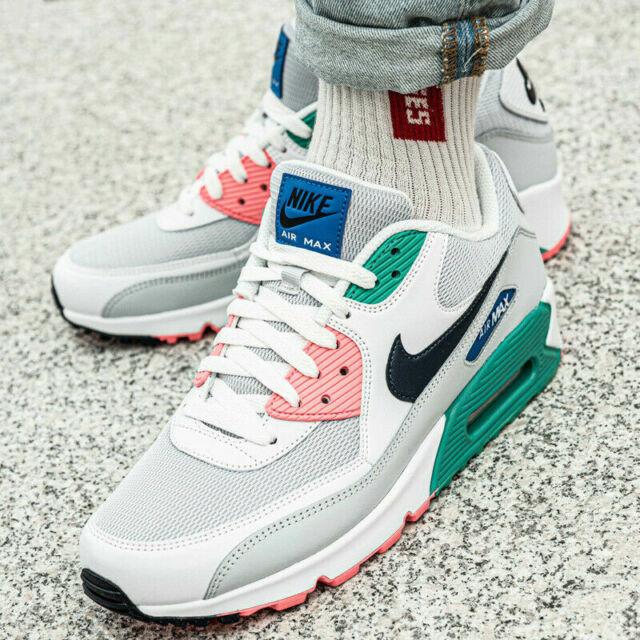 Nike Air Max 90 Essential AJ1285 100 Size 8 11 Men's brand new white shoes