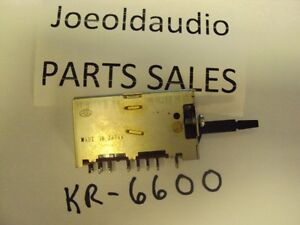Kenwood-Receiver-KR-6600-6060-7600-7060-Acoustic-Switch-Parting-Entire-KR-6600
