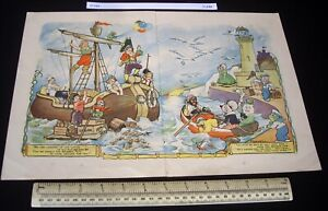 1920s-30s-Foxwell-Centre-Spread-Artwork-from-a-Childs-Annual-210
