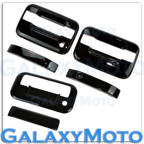 04-14 Ford F150 Gloss Black 2 Door Handle+no keypad no PSG KH+Tailgate Cover