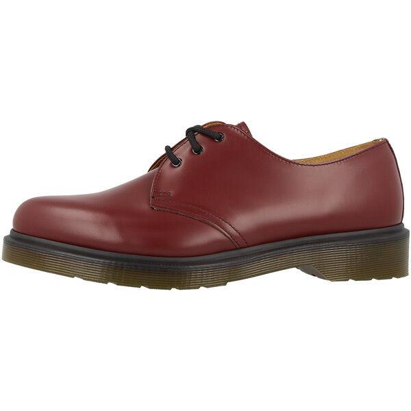 Dr doc Martens 1461 PW zapatos de piel 3 agujeros botas Cherry rojo smooth 10078602