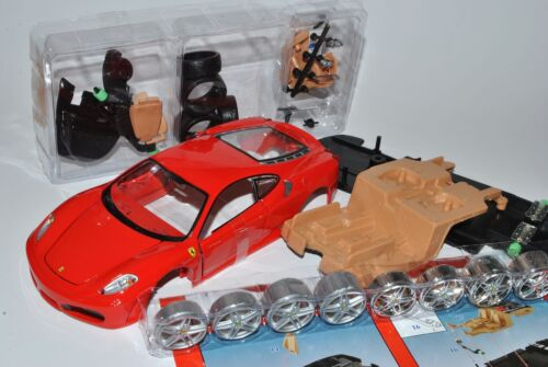 Ferrari F430 Coupe Rot 2004-2009 39259 Bausatz Kit 1//24 Maisto Modell Auto mit..