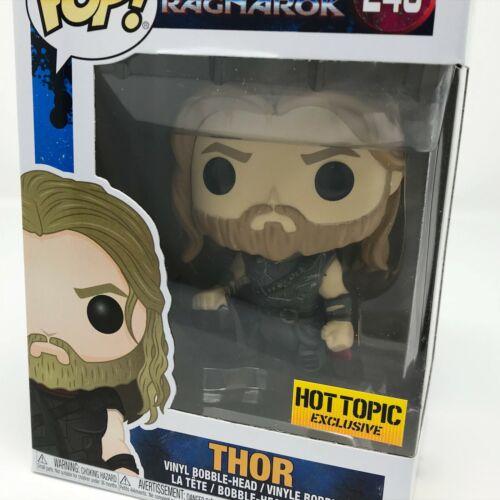 Marvel Thor: Ragnarok-Thor avec Surtur Head #246 Hot Topic Funko Pop Vinyle
