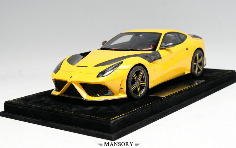 Mostrar F12 Stallone aftermaket Ferrari 1 18 giallo no BBR señor maquillaje