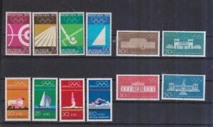 BRD-postfrisch-MiNr-587-590-und-624-627-und-719-722-Olympische-Spiele-Muenchen