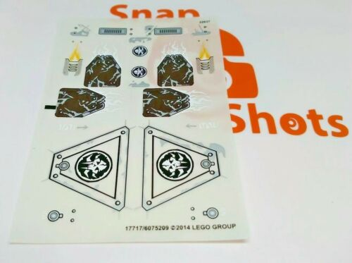 Lego 70145 Sticker Sheet NEW