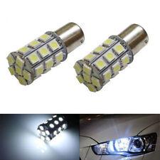 Super White 27 SMD RV Camper Trailer LED 1156 1141 1003 Interior Light Bulbs X2