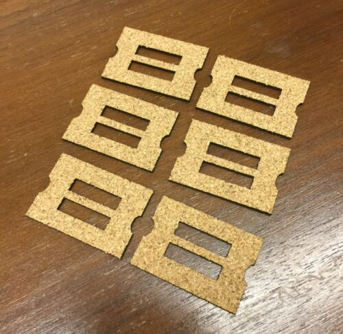 Set of 100 Cork Gaskets for Early Ampico A Player Piano Unit Valves New