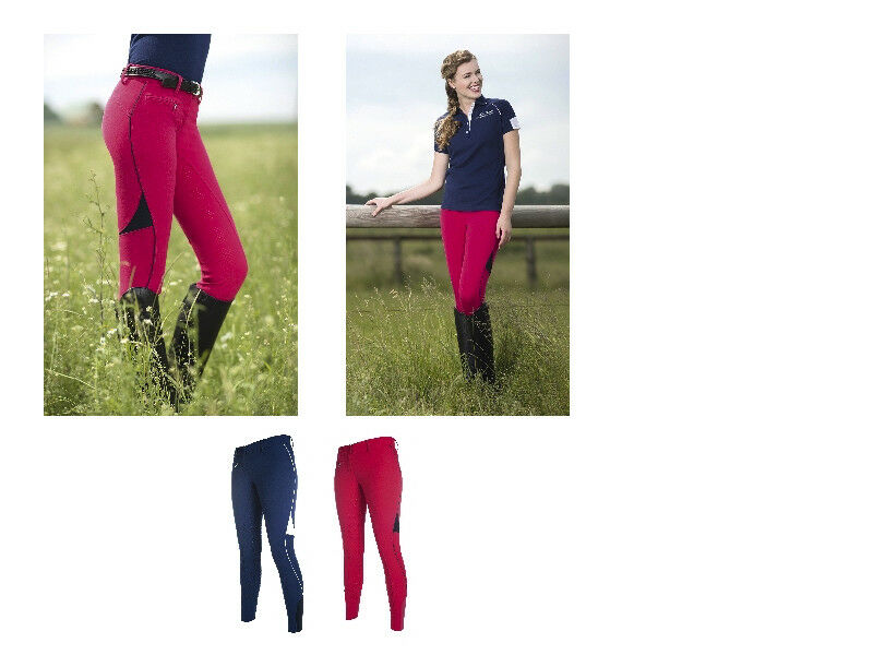 HKM NEW Ladies  Breeches Pro Team Silicone Full Grip Seat Free Delivery  there are more brands of high-quality goods