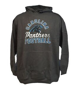 82368fcd Details about Carolina Panthers NFL Majestic Grey Kick Return Pullover  Hoodie Mens, Big & Tall