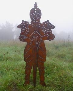 edelrost ritter antik mittelalter stil 120 m h rost