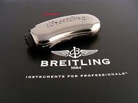 Breitling Silber Feuerzeughülle Metall Mit Breitling Etui Pocketlighter Neu Rar