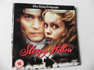 SLEEPY HOLLOW PROMO DVD JOHNNY DEPP - Banbridge, Down, United Kingdom - SLEEPY HOLLOW PROMO DVD JOHNNY DEPP - Banbridge, Down, United Kingdom