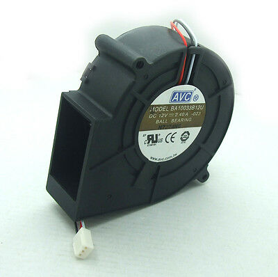 DC 2.4A 12V Fans 97 x 97 X 33MM Turbine Brushless Cooling Blowers Fan NO 9733S