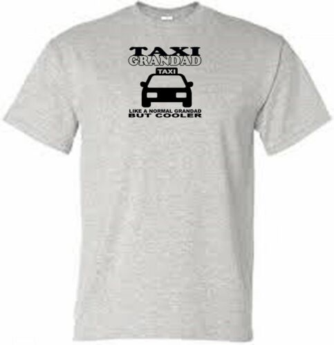 taxi grandad t shirt choose colour and size from menu
