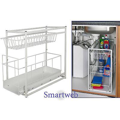 B-Ware Einbauschublade Schublade für Unterschrank Küchenschublade Waschbecken