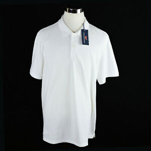 NEW-Vineyard-Vines-Mens-Polo-Shirt-Sz-XL-White-Stretch-Pique