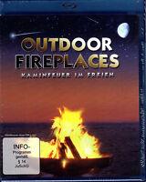 Outdoor Fireplaces - Kaminfeuer im Freien  - Blu-ray - neu