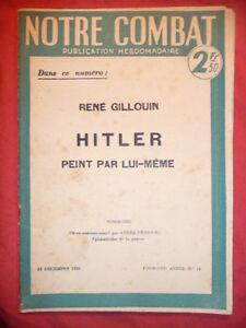 Notre-Combat-premiere-annee-N-14-22-decembre-1939-Andre-FRIBOURG