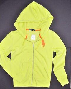 Sweatshirt M Track Polo Yoga Xl Coat Pony Hoodie S Lauren Jacket Ralph About Details Xs L Neon OuZXwkiTlP