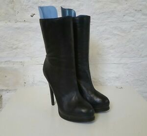 Ladies-Medium-Height-Thin-Heeled-Black-Kelsi-Dagger-Boots-10