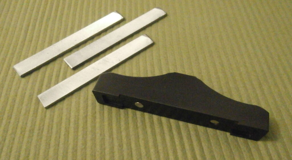 G.M.I file leveling system(3 different cut bahco files)
