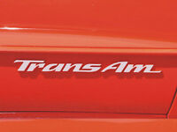 Pontiac Trans Am Door Emblem Overlay Decals Fits 93-02