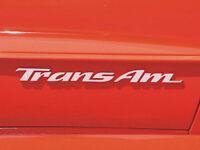 Pontiac Trans Am Door Emblem Overlay Decals Fits 93-02