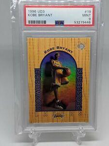 1996-97 UD3 Kobe Bryant Rookie #19 PSA 9 Mint Los Angeles Lakers HOF RC