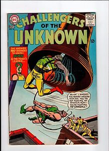 DC-CHALLENGERS-OF-THE-UNKNOWN-46-1965-VG-Vintage-Comic