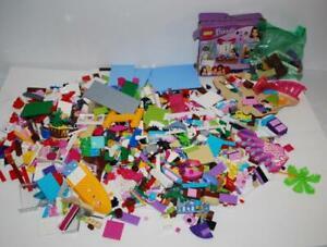 Lego-Friends-Lot-5-Pounds-Pink-Purple-Legos-Various-Sets