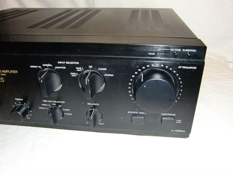 Forstærker, Sony, TA-F550ES