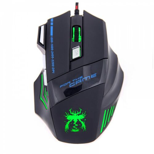 USB Optical Laptop Computer PC Wired Gaming Mouse For Gamer Dota2 cs Go Games Mi