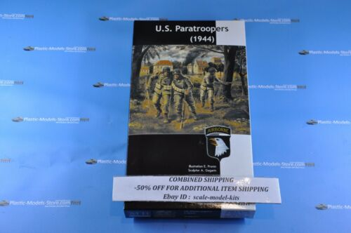 """SET OF 4 KITS /""""WWII US ARMY SOLDIERS/""""  1//35 MASTER BOX  3511//3520//3521//35130"""