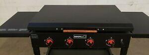 Nexgrill 4-Burner Propane Gas Grill griddle Hard Cover Black ALUMINUM USA MADE